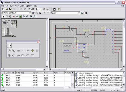Ladderwork the first ladder relaylogic compiler for embedded systems lw5g ccuart Choice Image